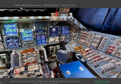 Take a 360 Degree Virtual Tour of Space Shuttle Discovery ...