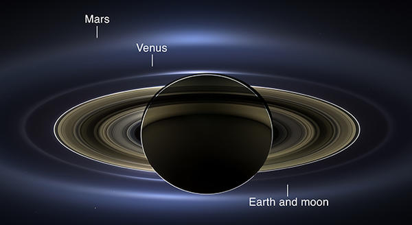 Cassini at Saturn 1