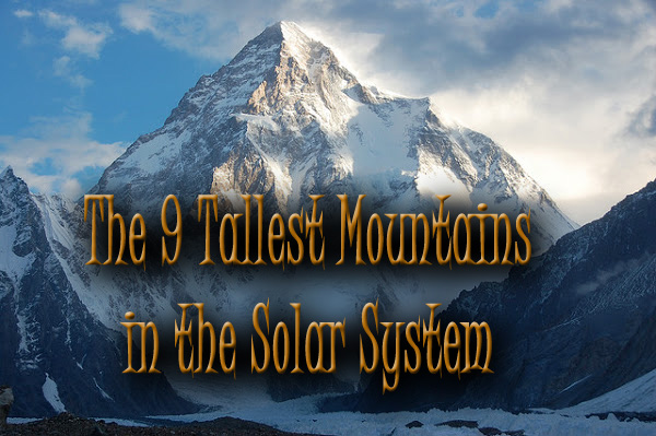 highest mountain in the solar system - photo #21