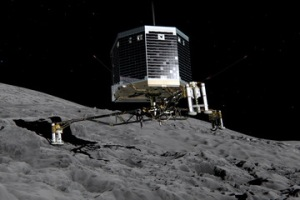 Rosetta probe to land on comet tomorrow