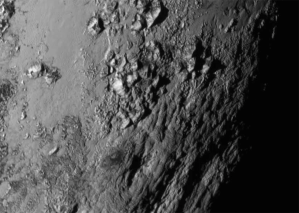 mountains of pluto