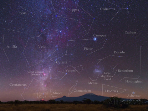 Closest Stars To Earth Map.The 10 Brightest Stars In The Night Sky Irene W Pennington