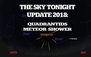 Quadrantids, meteor shower, 2018