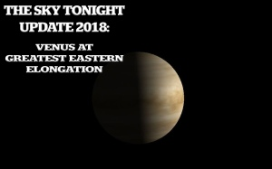 Venus at Greatest Eastern Elongation