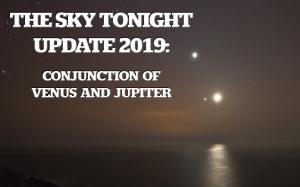 Conjunction of Venus and Jupiter
